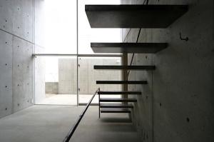 scala in metallo - Uno Tomoaki - Table Mountain house - Nagoya