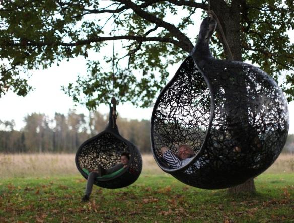 poltrona Manu Nest - Raimonds Cirulis for Maffam