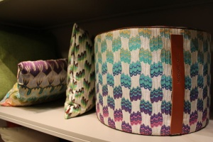 pouff e cuscini Missoni Home