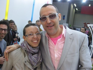 Io e Karim Rashid - 2010
