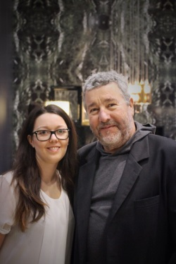 with Philippe Starck
