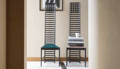 sedia Hill House - 1902 - Mackintosh for Cassina